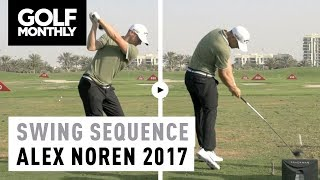 2017 Alex Noren Swing Sequence | Golf Monthly