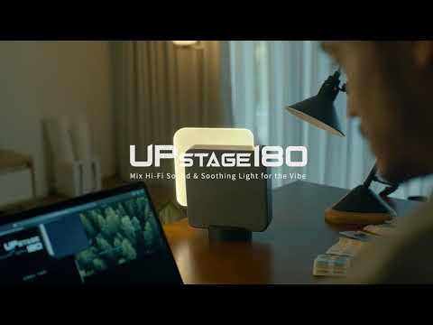 UPstage180, Mix Hi-Fi Sound & Soothing Light-GadgetAny