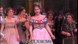 喜歌劇こうもり「シャンパンの歌」マリーナ・ドマシェンコ、マーリス・ペーターゼン
