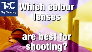 What colour lenses should you use?