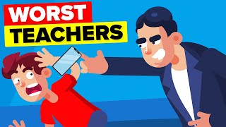 Worlds Worst Teachers - 9 Insane Things That Got Them Fired