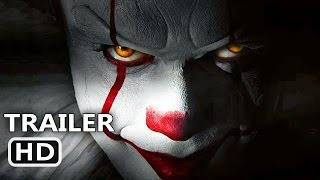 ІT Official Trailer 2017 Clown Horror Movie HD