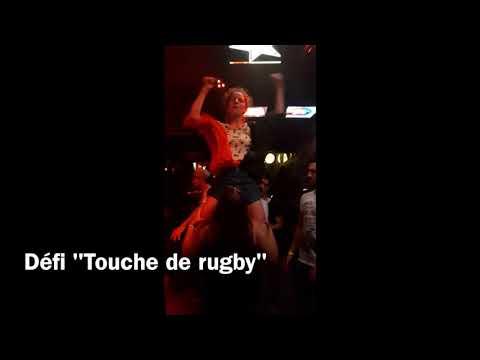 """Réaliser une """"Touche de rugby"""""""
