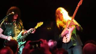 Michael Angelo Batio Shred Guitarist and Matthew Mills Guitarist performing Live  2016