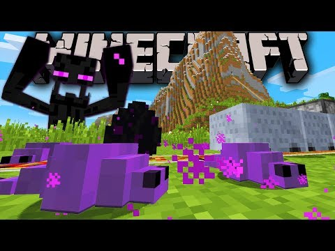 Minecraft 1.8 Snapshot: New Monster! Endermite, Dragon Mystery, Fast Minecart, Creeper Flee, Mob AI