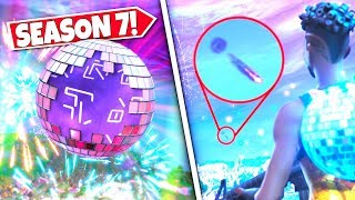 *NEW* UNKNOWN FLYING OBJECT *SEEN* FALLING FROM SKY DURING NEW YEARS EVENT! SEASON 7 UPDATE!: BR