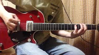 【AC/DC】Playing with Girls - Rhythm guitar (Malcolm Young) Cover