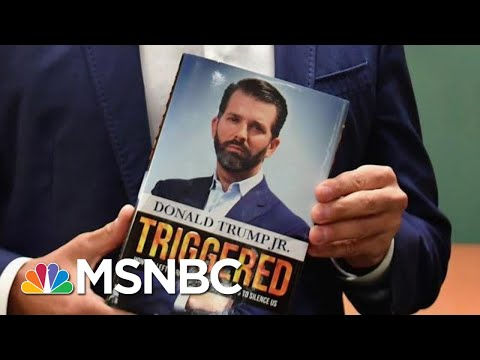 Trump Jr., Author Of 'Triggered,' Gets Booed Off Stage   All In   MSNBC
