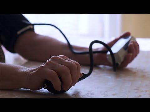 Ernährung und Bewegung für Hypertonie