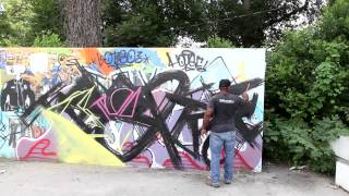 ORIGINAL SC   Fine + Street Artist Cedric Umoja