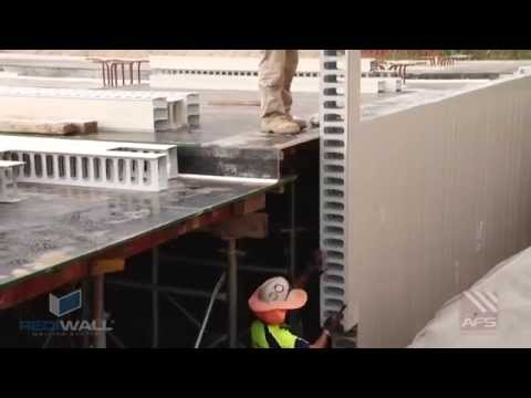 AFS Walling REDIWALL® Installation Demonstration