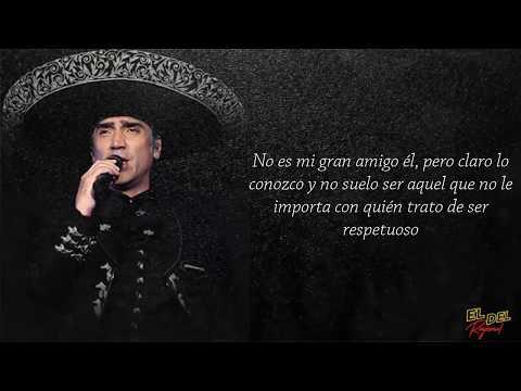 Alejandro Fernández - Caballero (Letra/Lyric)