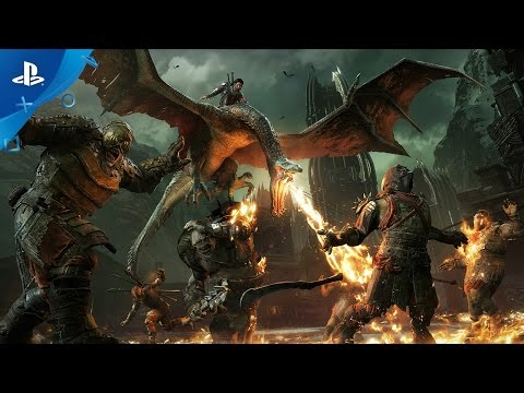 Middle-earth: Shadow of War - Official Gameplay Walkthrough Video | PS4