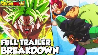 Dragon Ball Super Broly Trailer 3 Breakdown! BROLY UNLEASHED! Goku Vs Broly! Vegeta Vs Broly