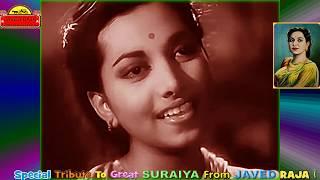 SURAIYA~Film~JEET~{1949}~Tum Meet Mere   - YouTube