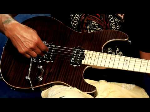 George Lynch demos the ESP E-II ST-2