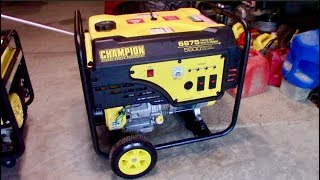 Powering my ENTIRE HOME with a Gas Generator