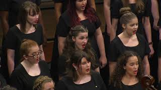 UNT Women's Chorus performs Fire Dance