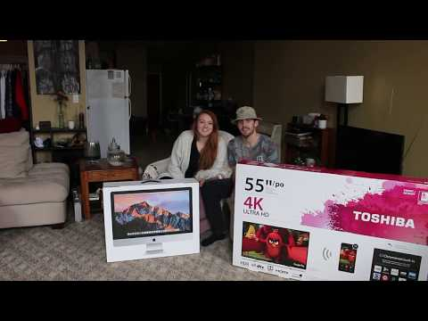 UNBOXING our Black Friday DOORBUSTER!!! Toshiba 55