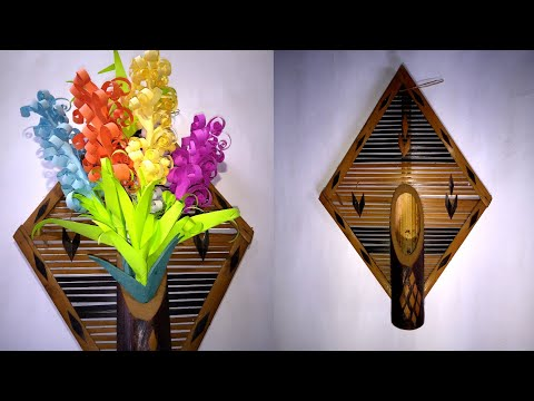 Download How To Make Lavender Flower With Color Paper Making Paper