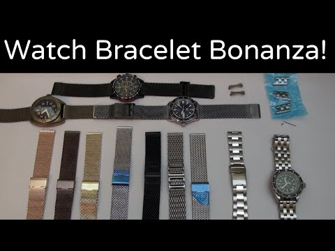 WatchGecko Bracelet Review: Mesh, Oyster, and Engineer
