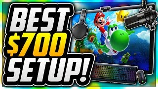 ULTIMATE $700 BUDGET GAMING SETUP FOR NEW CONTENT CREATORS! BEST GAMING SETUP FOR ONLY $700 IN 2018!