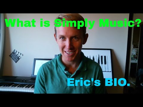 Get to know Eric and learn about Simply Music Piano Method