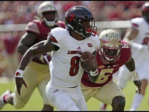 Louisville Vs. Florida State Highlights 2017   CFB Week 8   College Football Highlights 2017
