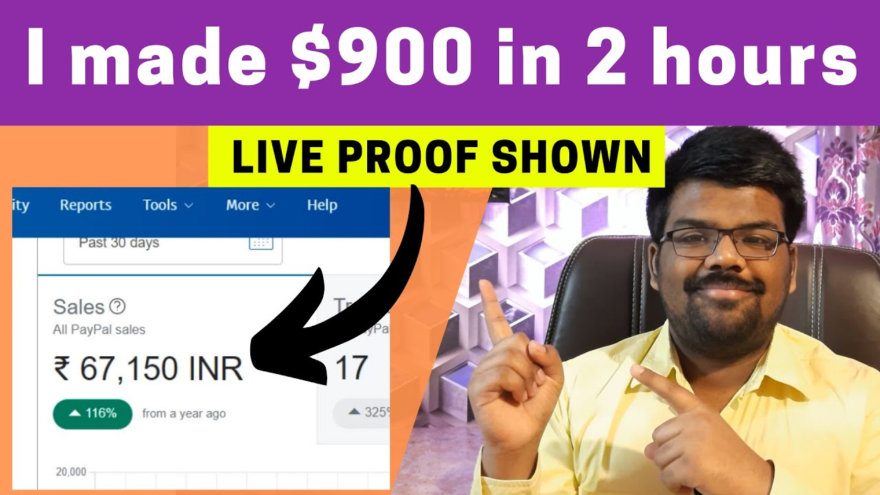 $900 in 2 Hours (CPA Marketing Tutorial For Beginners) – Make Money Online thumbnail