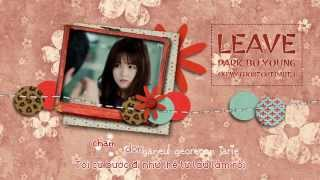 [Vietsub + Kara] Park Bo Young - Leave [Oh My Ghost OST Part 3]