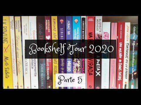 Bookshelf Tour 2020: Parte 5 | VEDA 29 | Um Livro e Só