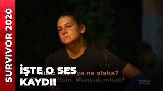 """Survivor'a damga vuran ses kaydı  #Survivor Tv8 ekranlarında yayınlanan ve """"Acun Medya"""" tarafından hazırlanan Türkiye 'nin en çok izlenen en heyecanlı yarışma programı...  İzleyenleri her sezon ekrana kilitleyen Survivor 2020'nin bu yıl ki yarışmacı kadrosu nefesleri kesiyor.   Ünlüler Takımı: Ersin Korkut, Uğur Pektaş, Aycan Yanaş, Derya Can, Parviz Abdullayev, Elif Gören, Barış Murat Yağcı, Şaziye İvegin Üner, Mert Öcal, Tuğba Melis Türk  Gönüllüler Takımı: Fatma Günaydın, Burak Yurdugör, Meryem Kasap, Sadık Ardahan, Evrim Kekik, Cemal Can, Makbule Karabudak, Ceyhun Jay, Tayfun Erdoğan, Nisa Bölükbasi, Yasin Obuz  #Survivor ıssız bir adada hayatta kalma mücadelesi veren yarışmacıların zor yaşamı ve birincilik mücadelesi."""