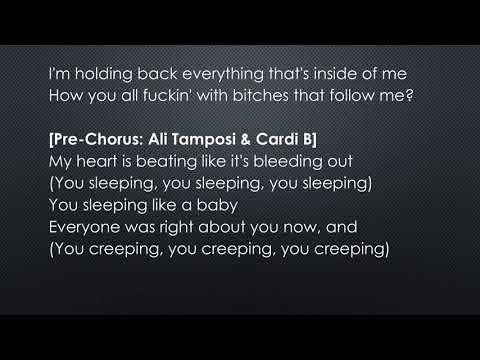 "Cardi B ""Thru Your Phone"" official lyrics"