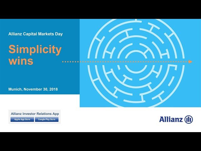 Capital Markets Day 2018 - Oliver Bäte