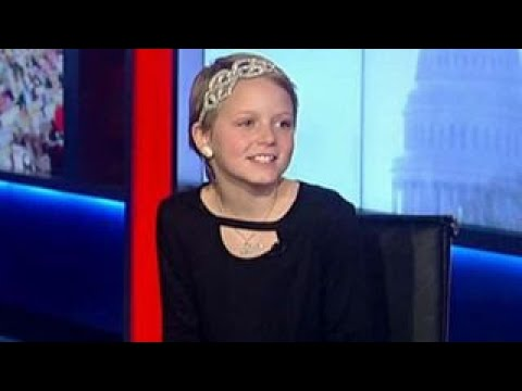 10-year-old cancer survivor given voice on Capitol Hill