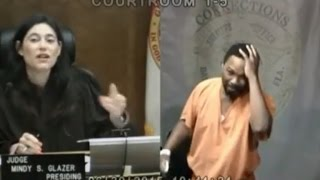 Burglary Suspect Sobs After Discovering He Went to Middle School With Judge
