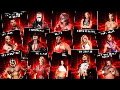 WWE 2K19 Roster Reveal - Part 3/3: 50+ Legends Confirmed +