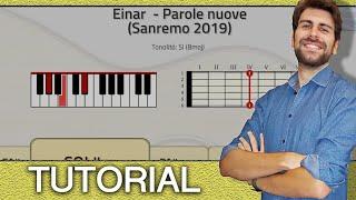 SANREMO 2019! Einar    Parole Nuove (Piano E Chitarra   Accordi )