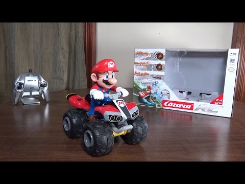 Carrera RC - Mario Kart 8 RC Mario - Review and Run