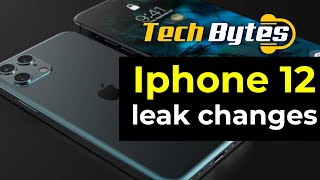 New Apple iPhone 12 leak changes | TECHBYTES