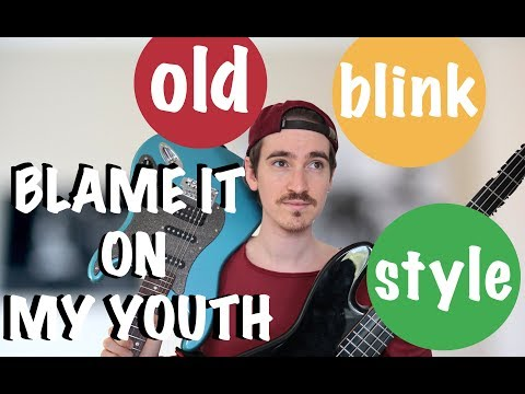BLAME IT ON MY YOUTH (Tom Delonge Style/old Blink Cover)