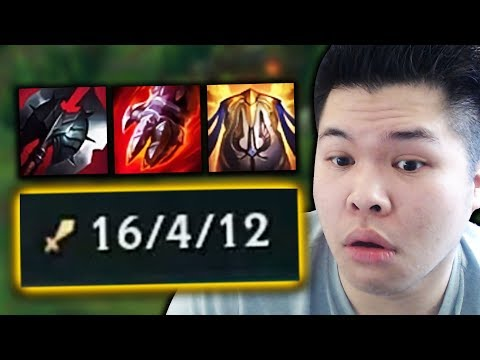 TANK KHA'ZIX HAS RETURNED FOR SEASON 9?? This build is BUSTED!! - Challenger to RANK 1