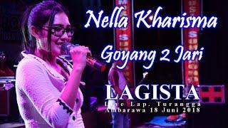 Nella Kharisma - Goyang 2 Jari Terbaru Dangdut Koplo( Sandrina )  - LAGISTA Live Ambarawa 2018