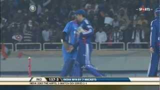IND vs ENG | ODI - 3 | India Batting - Highlights