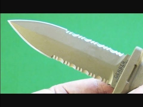 Gerber De Facto Military Dagger Knife Review