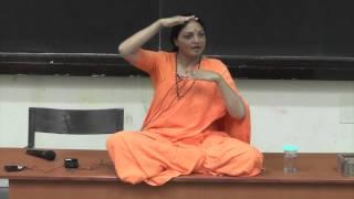 Swamini Vimalananda At IIT Kanpur On 28 Sept., 2014: Who Am I? And Mind Management