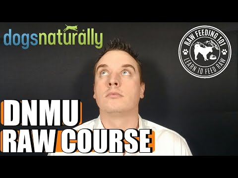 Dogs Naturally Magazine Raw Dog Food Nutrition - YouTube