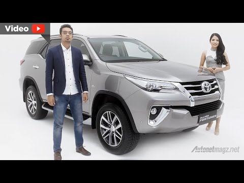 Video Toyota All New Fortuner 2016 Indonesia