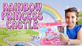 РАДУЖНЫЙ ЗАМОК ПРИНЦЕССЫ Mega Bloks. Barbie Rainbow Princess Castle Mega Bloks
