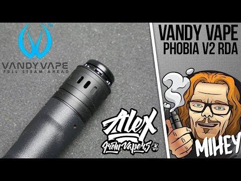 Vandy Vape Phobia V2 BF RDA